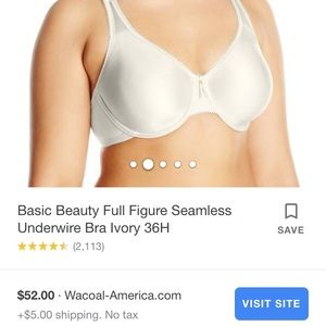 Wacoal Basic Beauty seamless bra